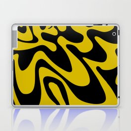 Swirly Whirly: Abstract Pop Art Painting by Bruce Gray Laptop & iPad Skin