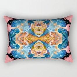 Pink Cosmic Puff Rectangular Pillow