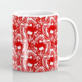 2014 Year of the Horse - Chinese Paper Cut Inspired Coffee Mug