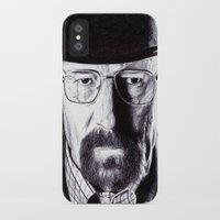 heisenberg iPhone & iPod Cases featuring Heisenberg  by DeMoose_Art