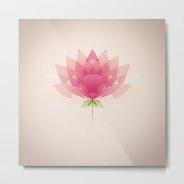 Lotus Metal Print