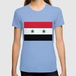Flag of Syria, High Quality image T-shirt
