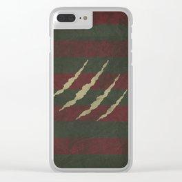 Elm Street 01 Clear iPhone Case