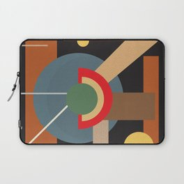 Abstract geometric composition study- clocks Laptop Sleeve