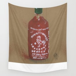 Sriracha Sauce - These are the things I use to define myself Wall Tapestry