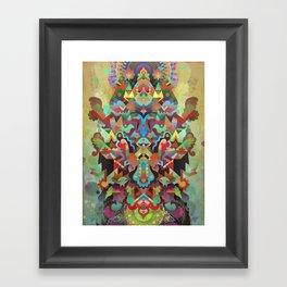 Dæmon [treatment 2] Framed Art Print