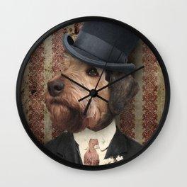 Sir Winston Wall Clock