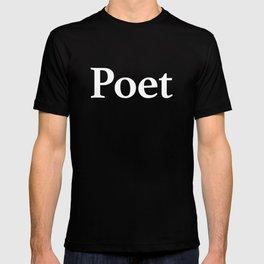 Poet inverse T-shirt