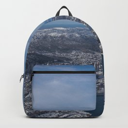 Winter City Backpack