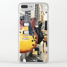 New York Guitar Shop Clear iPhone Case