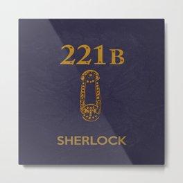 Sherlock 04 Metal Print