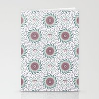 wallpaper Stationery Cards featuring Wallpaper  by Truly Juel