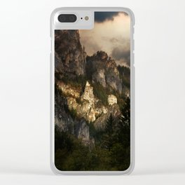 In the morning light Clear iPhone Case