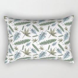Spring Leaves Rectangular Pillow