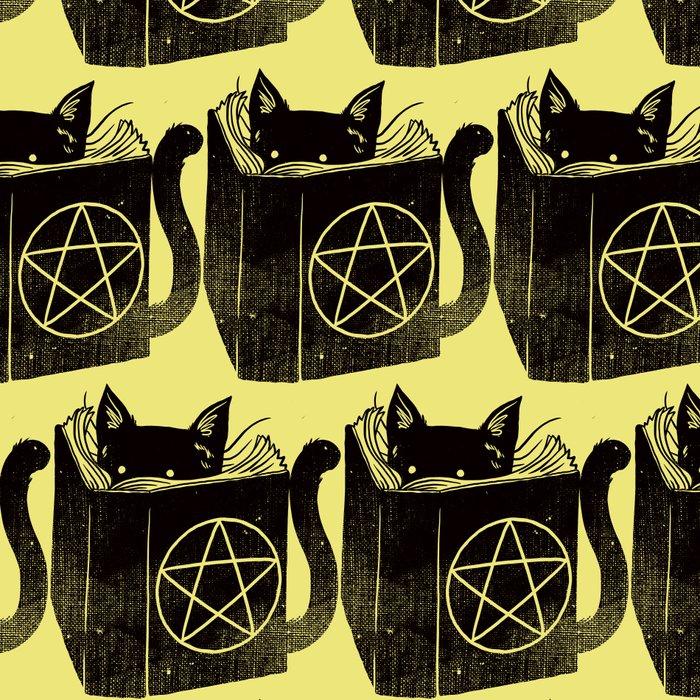 Witchcraft Cat Leggings