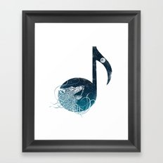 Night Sounds Framed Art Print