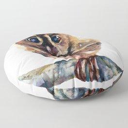WATERCOLOR BABY OWL WOODLAND ANIMALS NURSERY COLLECTION Floor Pillow