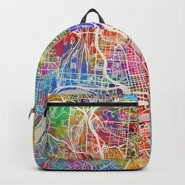 Cincinnati Ohio City Map Backpack