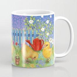 Chickens in the garden Coffee Mug