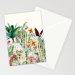 Blooming in the cactus Stationery Cards