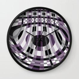 Abstract 360 Wall Clock