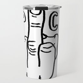 give political correctness the FINGER Travel Mug