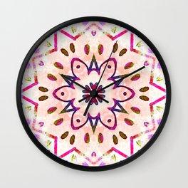 confetti cirque Wall Clock
