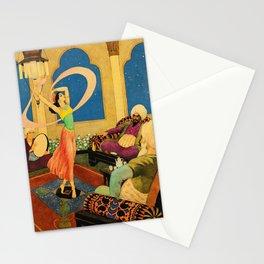 Dance of Morgiana By Rudolf Koivu Stationery Cards