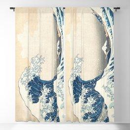 The Great Wave off Kanagawa by Katsushika Hokusai from the series Thirty-six Views of Mount Fuji Blackout Curtain