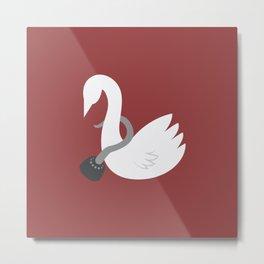 Captain Swan Metal Print