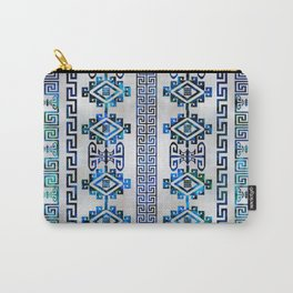 Greek Key Ornament Carry-All Pouch