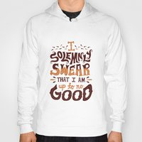 risa rodil Hoodies featuring I am up to no good by Risa Rodil