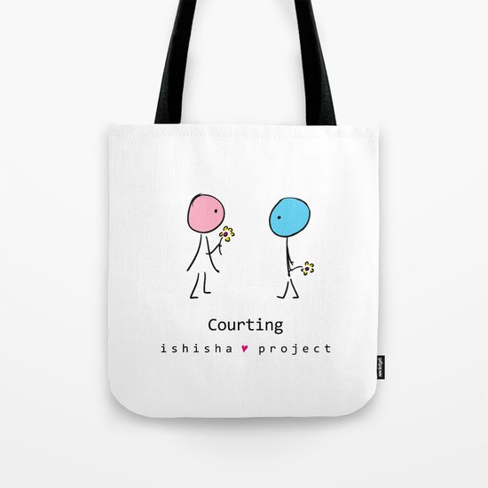 COURTING by ISHISHA PROJECT Tote Bag