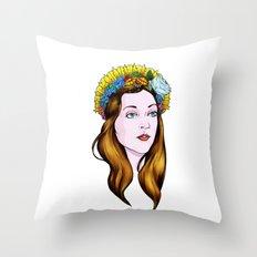 SAINT ANNE Throw Pillow