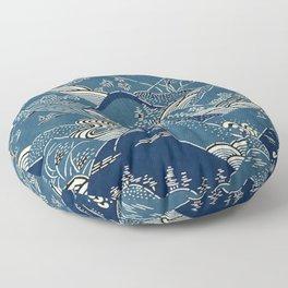 Blue Mountains Floor Pillow