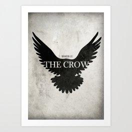 The Crow - Minimal Art Print