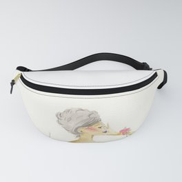 You Cannot Ignore the Color Purple Fanny Pack