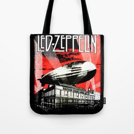Red Zeppelin Tote Bag