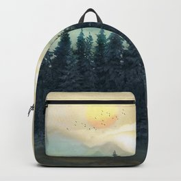 Forest Under the Sunset II Backpack