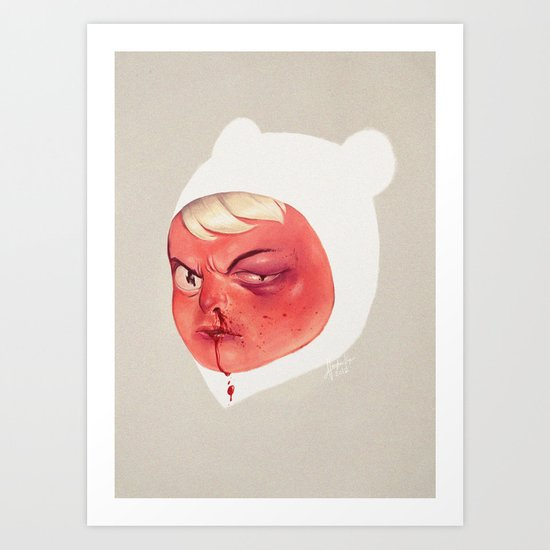 Occupational Hazard Art Print