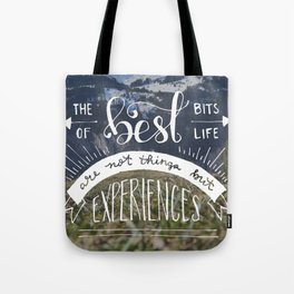 The Best Bits of Life Tote Bag