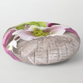 Gifts from the Garden Floor Pillow