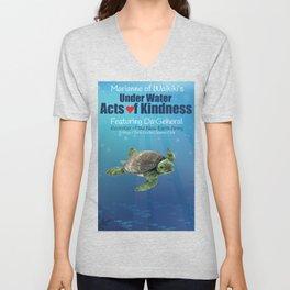 Under Water Acts of Kindness: Da General Unisex V-Neck