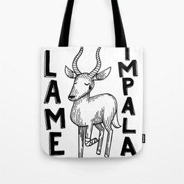 Lame Impala Tote Bag