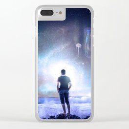 The Northern Light Sea Clear iPhone Case