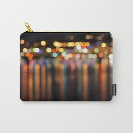 Bokeh City Night Lights Carry-All Pouch