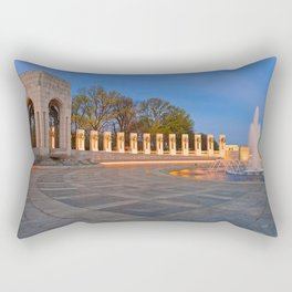Washington DC World War II Memorial Rectangular Pillow