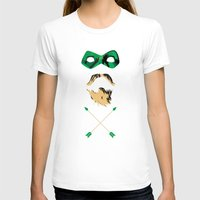 green arrow T-shirts featuring Green Arrow by Blake Sturchio