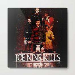 ice nine kills the silver scream best tour 2019 2020 napitupulu Metal Print