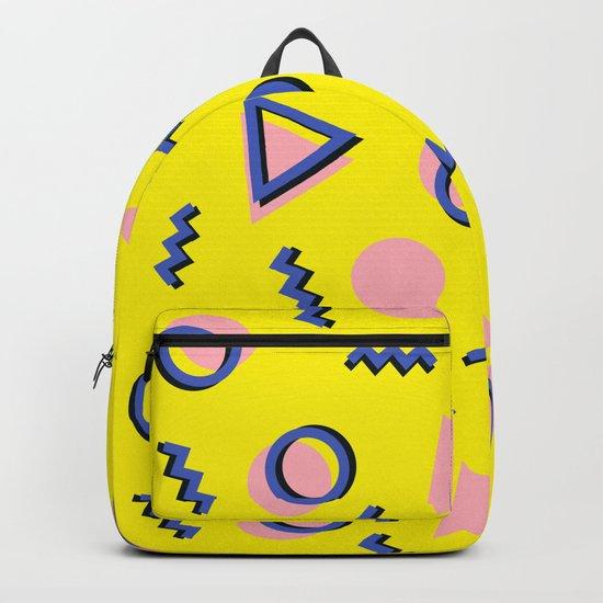 Memphis pattern 62 Backpack